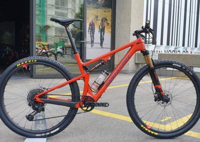 Santa Cruz VTT XC Blur CC XX1 Eagle + Reserve Wheels